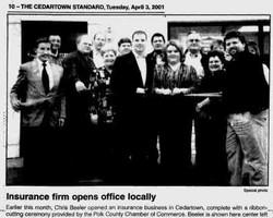 Beeler Insurance opens in 2000