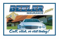 Beeler Insurance Logo in 2008