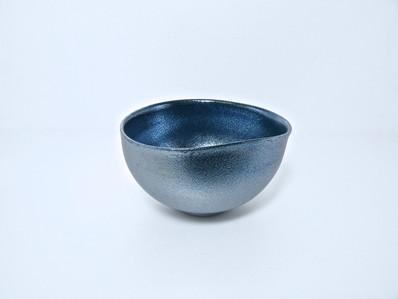 「煌彩藍茶盌」