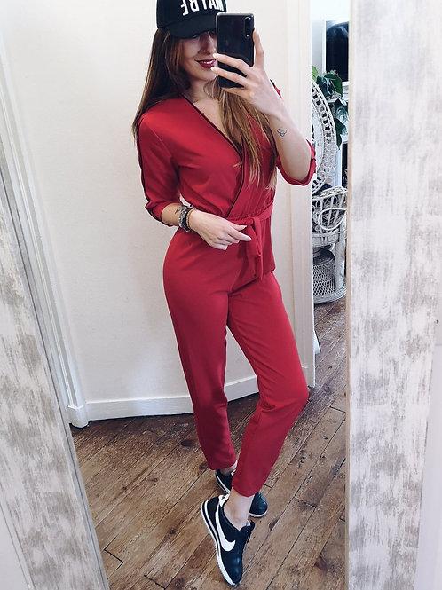 Combi Lou rouge
