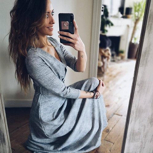 Robe Johanna grise