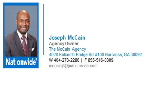 Joseph McCain Nationwide