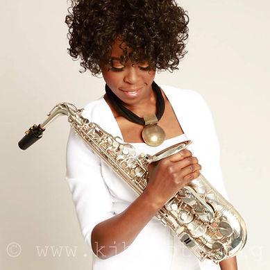 Millicent Stephenson Saxophonist Photo b