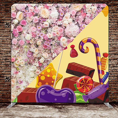 Backdrop 12 - Pastel Flower Wall Chocola