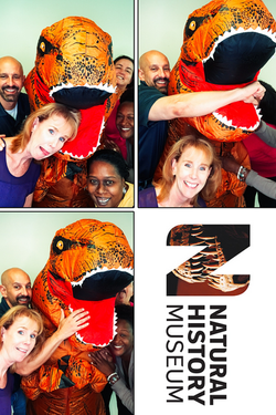 National History Museum Photo Booth