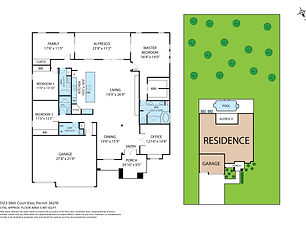 Floorplan - 456 Sunset St, Bradenton, 34