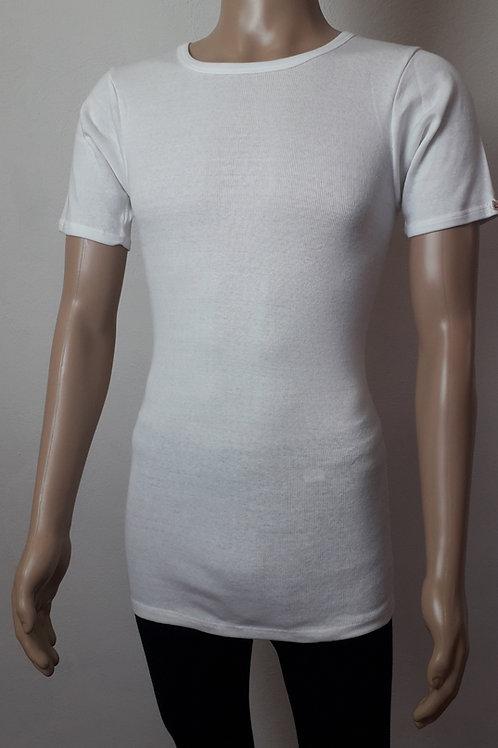 Herren-Hemd 1/2-Arm aus Strickflausch
