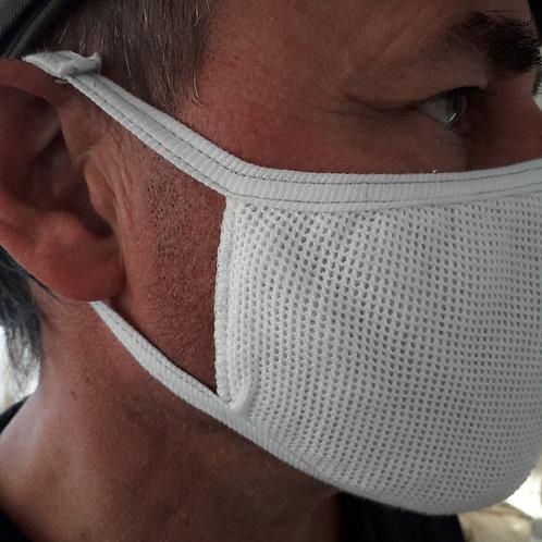 Mund-Nase-Abdeckung | Knüpftrikot mit Vlieseinlage | 4er Pack
