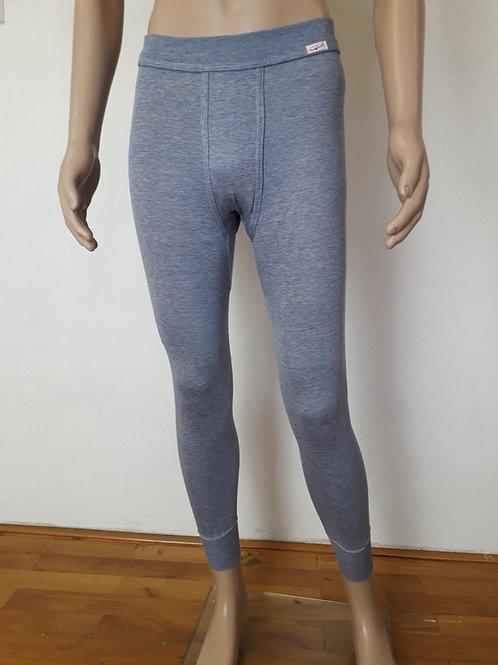 Herrenunterhose lang in jeans melange