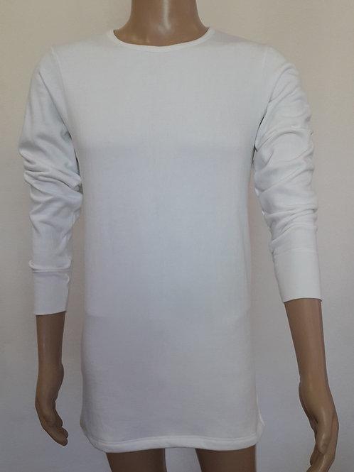 Herren-Hemd langarmig aus Henkel-Plüsch
