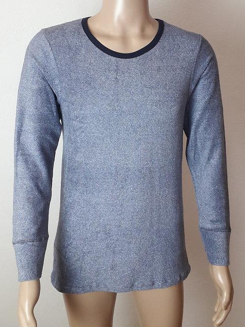 Herren-Hemd langarmig aus Frottee