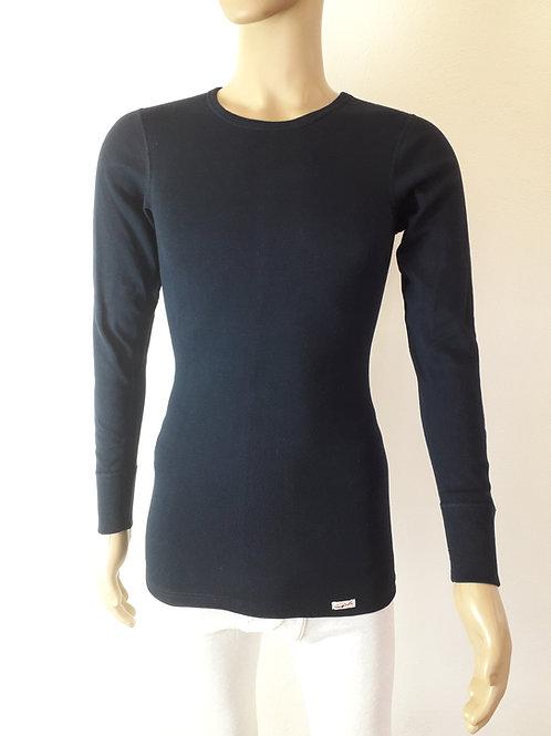 1b Ware - Herren-Hemd langarmig aus Strickflausch