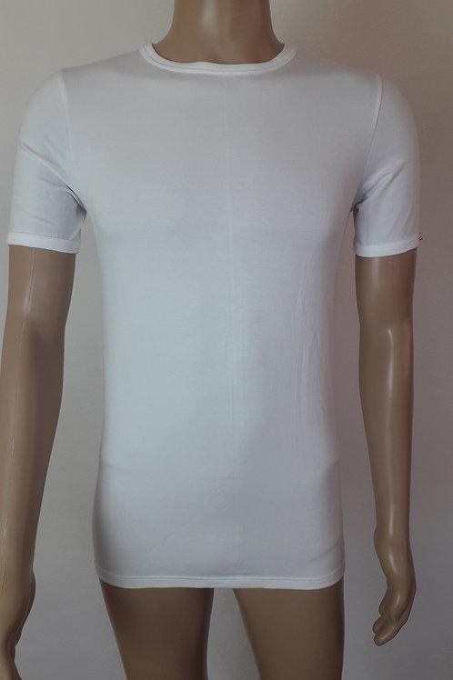 Herren Hemd 1/2-Arm aus Single-Elastik