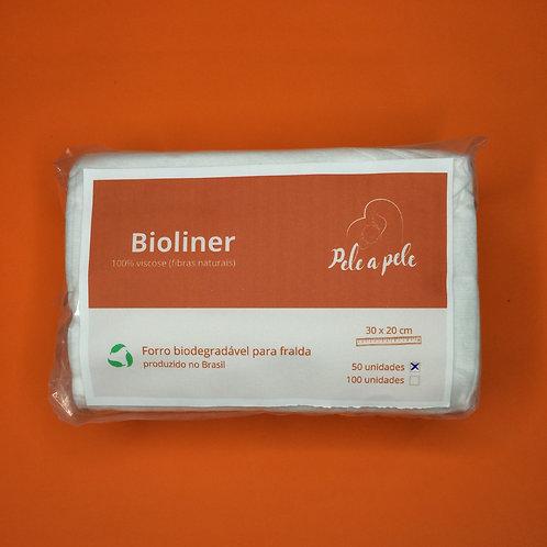 Bioliner (Forro para interior da fralda biodegradável)