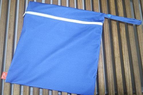 Sacola ppele-impermeável azul G