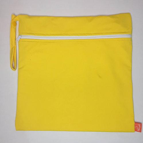 Sacola ppele-impermeável amarela G