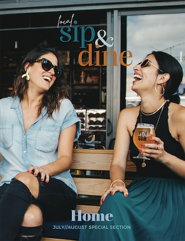 Home Sip & Dine Special Section