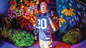 Chris P. Talks Art, Murals & Positivity