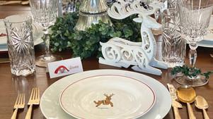 A Festive Table on a Dime