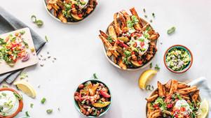 Loaded Sweet Potato Fries