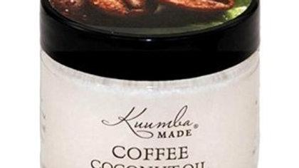 Coffee coconut oil