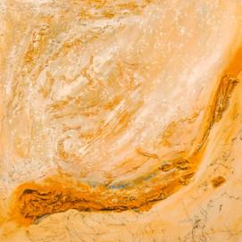 Mémoire de poussières 1 (100x100)cm, Techniques mixtes sur toile