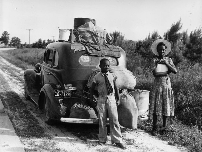 An African-American family leaves Florida for the North during the Great Depression.