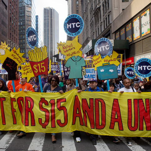 Fight for $15 and a Union Rally