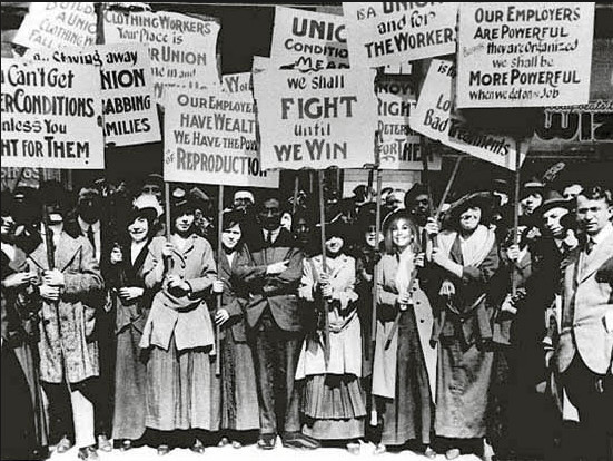 1912 The Bread and Roses strike begun by immigrant women in Massachusetts ends with 23,000 men and women and children on strike and with as many as 20,000 on the picket line. The Department of Labor is created. Massachusetts establishes the first minimum wage law, protecting pay for women and minors.  Source: SEIU-UHW