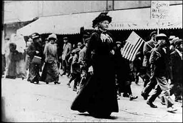 """1903 The Women's Trade Union League, formed at an AFL convention, becomes the first national association dedicated to organizing women workers.  Mary Harris Jones, nicknamed """"Mother Jones,"""" leads a 125-mile march of child workers to bring the evils of child labor to the attention of the President and the national press."""