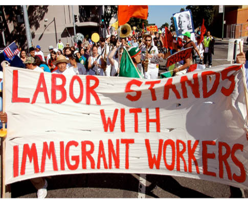 Labor Stands With Immigrant Workers