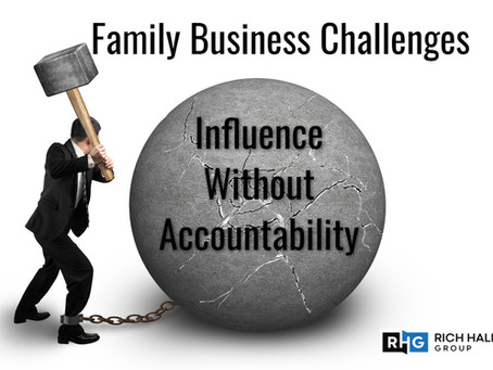 Influence without Accountability
