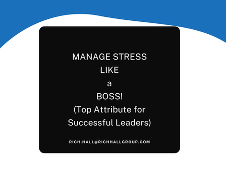 Manage Stress like a Boss!
