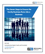 Rich Hall Group   Family Business Expert