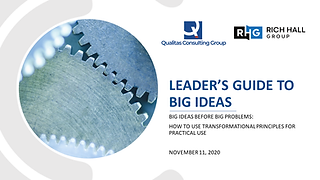 Leaders Guide to Big Ideas Before Big Pr