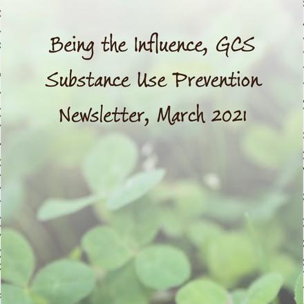 GCS substance abuse newsletter