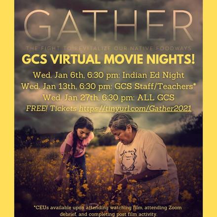 GCS Virtual Movie Nights