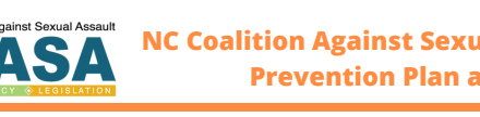 NC Coalition Against Sexual Assault Prevention Plan at a Glance