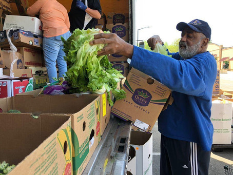 Wednesday drive-thru market offers free produce for families of Guilford County school-age children