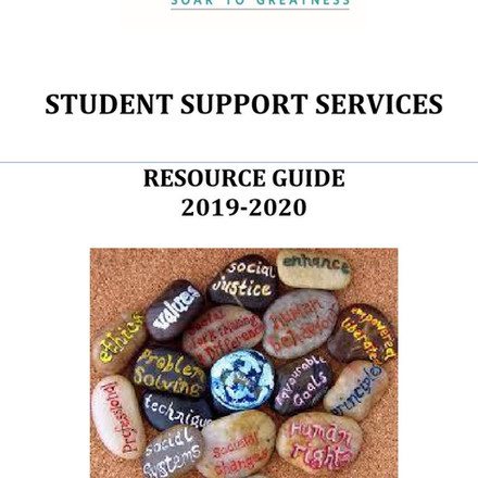GCS student support compilation of resources