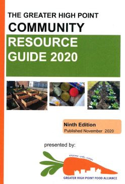 Greater High Point, NC Community Resource Guide 2020 (9th edition)