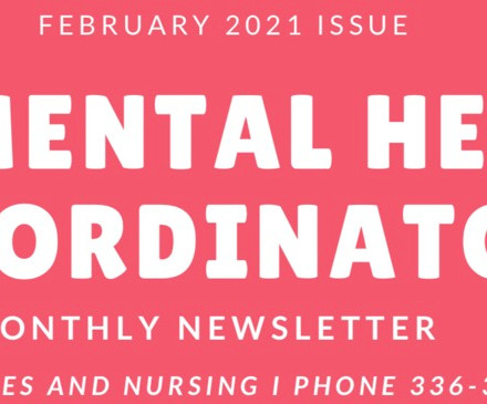 GCS Mental Health February 2021 Newsletter