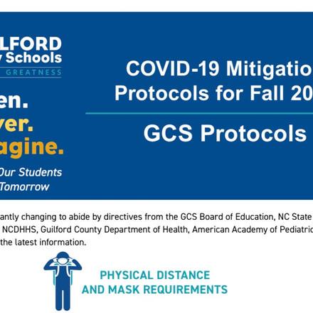 GCS reopening protocols