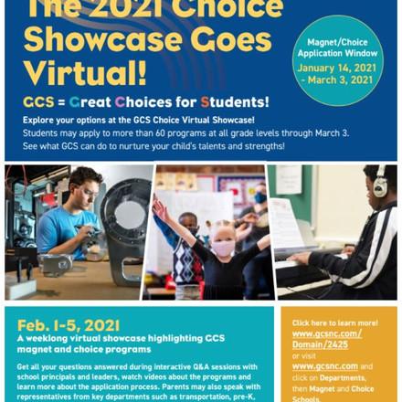 GCS Magnet & School Choice Virtual Showcase
