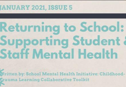 GCS Mental Health January Newsletter