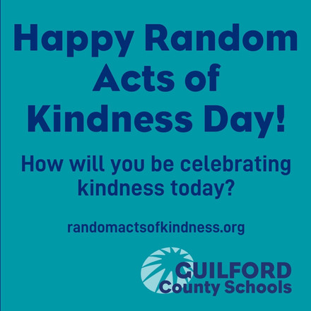 Random acts of kindness day!