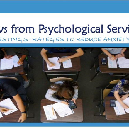 May 2021: GCS PSYCH Newsletter
