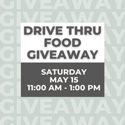 Food Giveaway (GCS/ Community partnership)