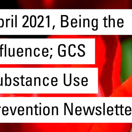 Substance Abuse Newsletter