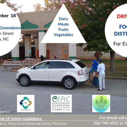 IWC food distribution 12/18 @4
